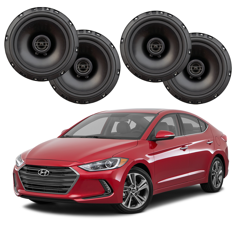 Fits Hyundai Elantra 2017-2019 Factory Speaker Upgrade Harmony R65 Speakers