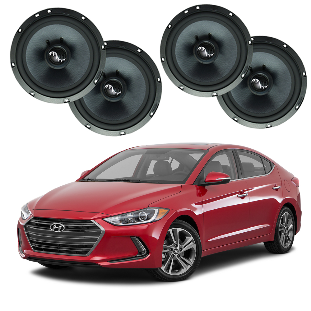 Fits Hyundai Elantra 2017-2019 Premium Speaker Upgrade Harmony C65 Speakers
