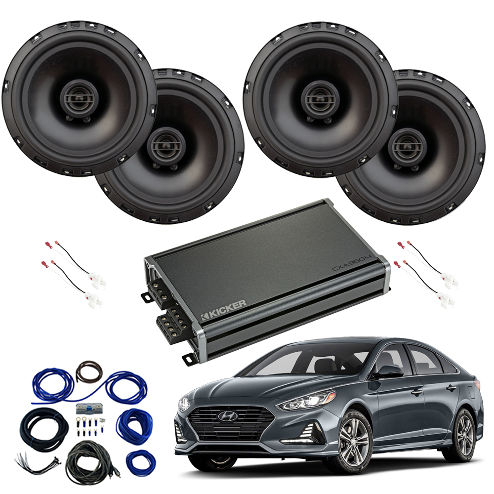 Compatible with Hyundai Sonata 2018-2019 Factory Speaker Replacement Harmony R65 CXA360.4