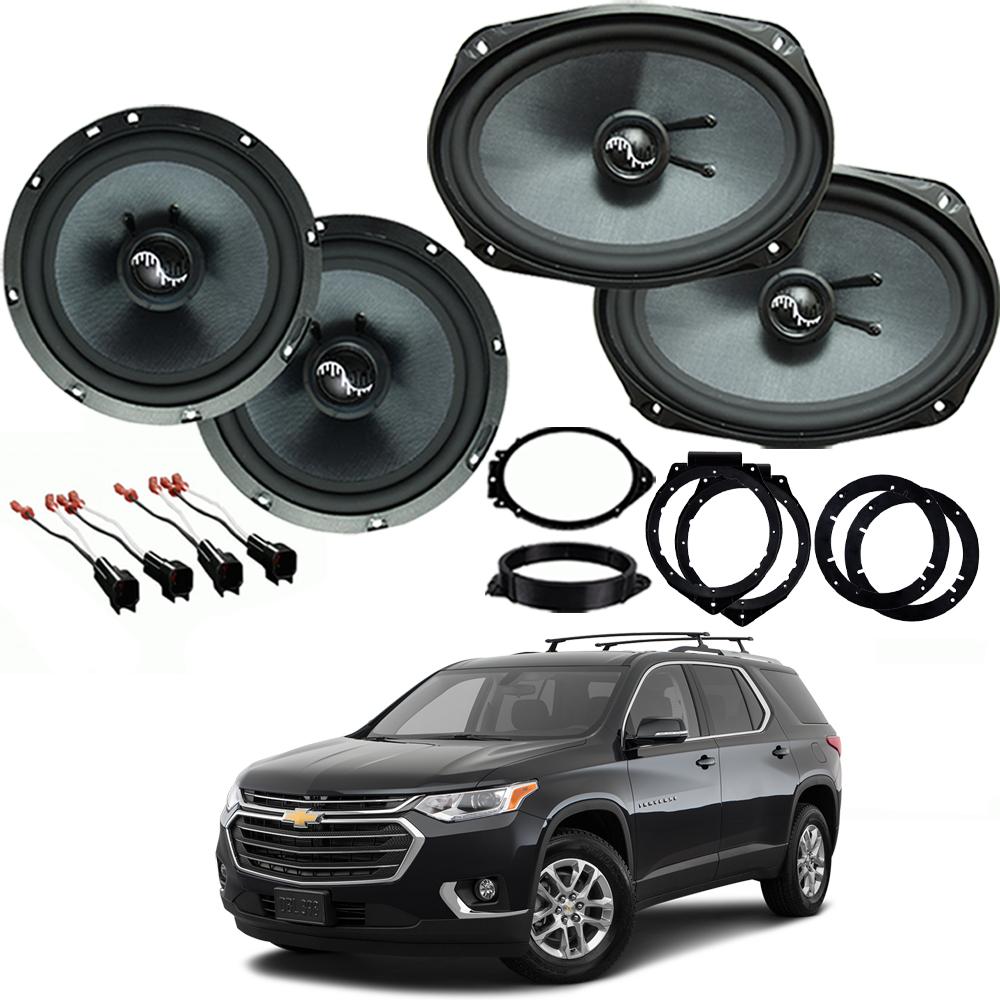 Chevrolet Traverse 2018 Premium Speaker Upgrade Harmony C69 C65 Speakers New