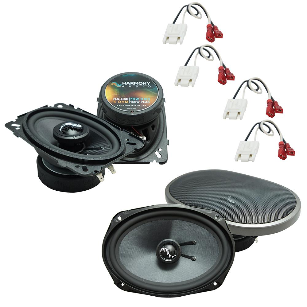 Fits Chevy Celebrity 1984-1990 OEM Premium Speaker Upgrade Harmony C46 C69 Package New