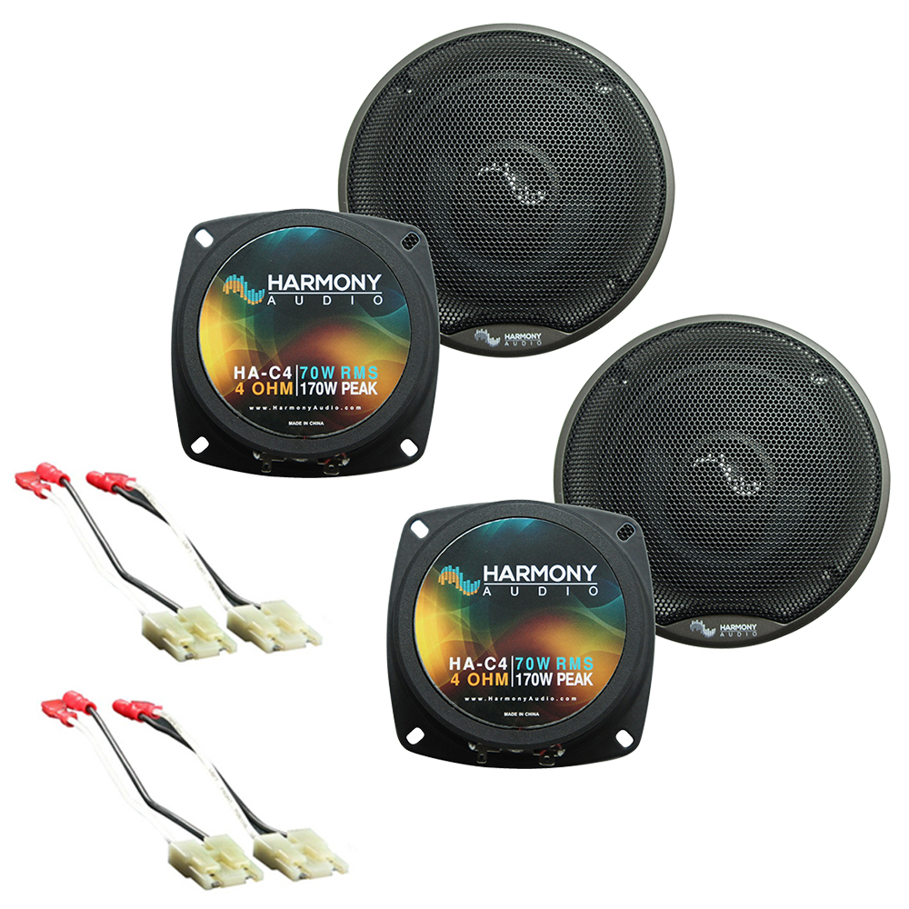 Fits Chevy Corvette 1984-1989 Factory Premium Speaker Replacement Harmony (2) C4 Package
