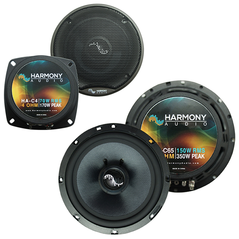Fits Chevy Corvette 1990-1996 Factory Premium Speaker Upgrade Harmony C4 C65 Package New