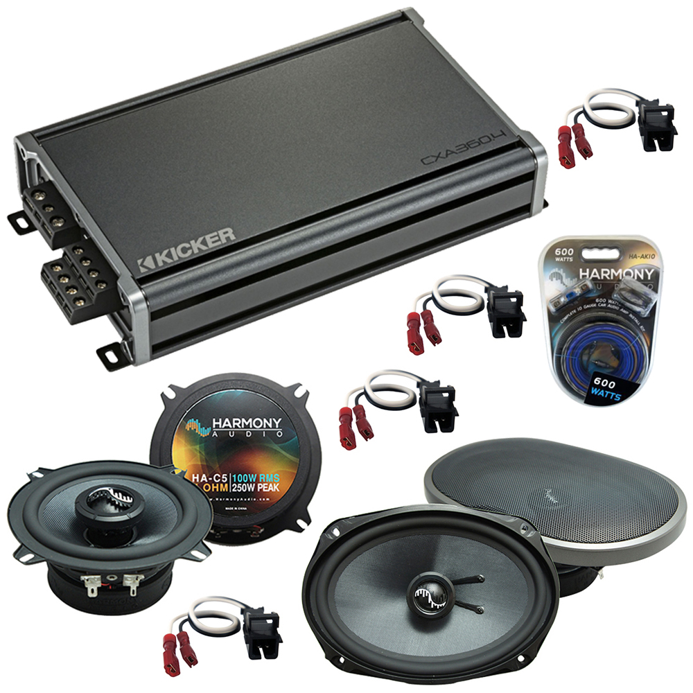 Compatible with Chevy Lumina 1995-2001 Factory Speakers Replacement Harmony C5 C69 & CXA360.4