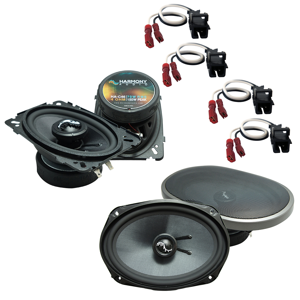 Fits Chevy Malibu 1997-2003 Factory Premium Speaker Upgrade Harmony C46 C69 Package New