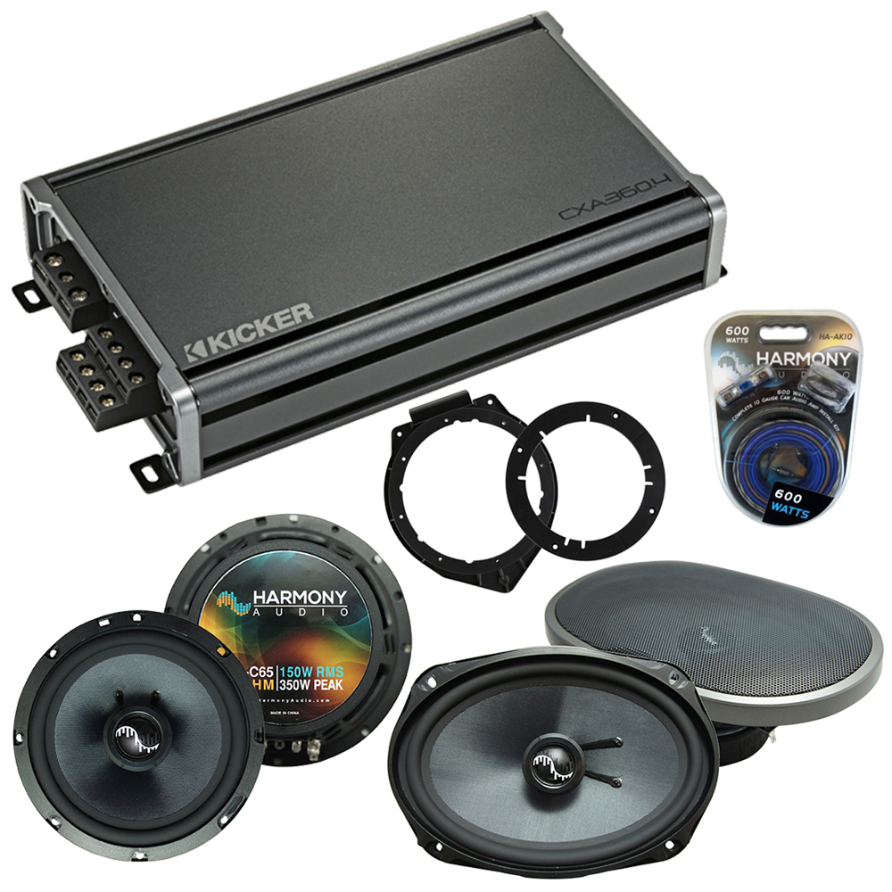 Compatible with Chevy Malibu 2008-2012 Factory Speakers Replacement Harmony C65 C69 & CXA360.4