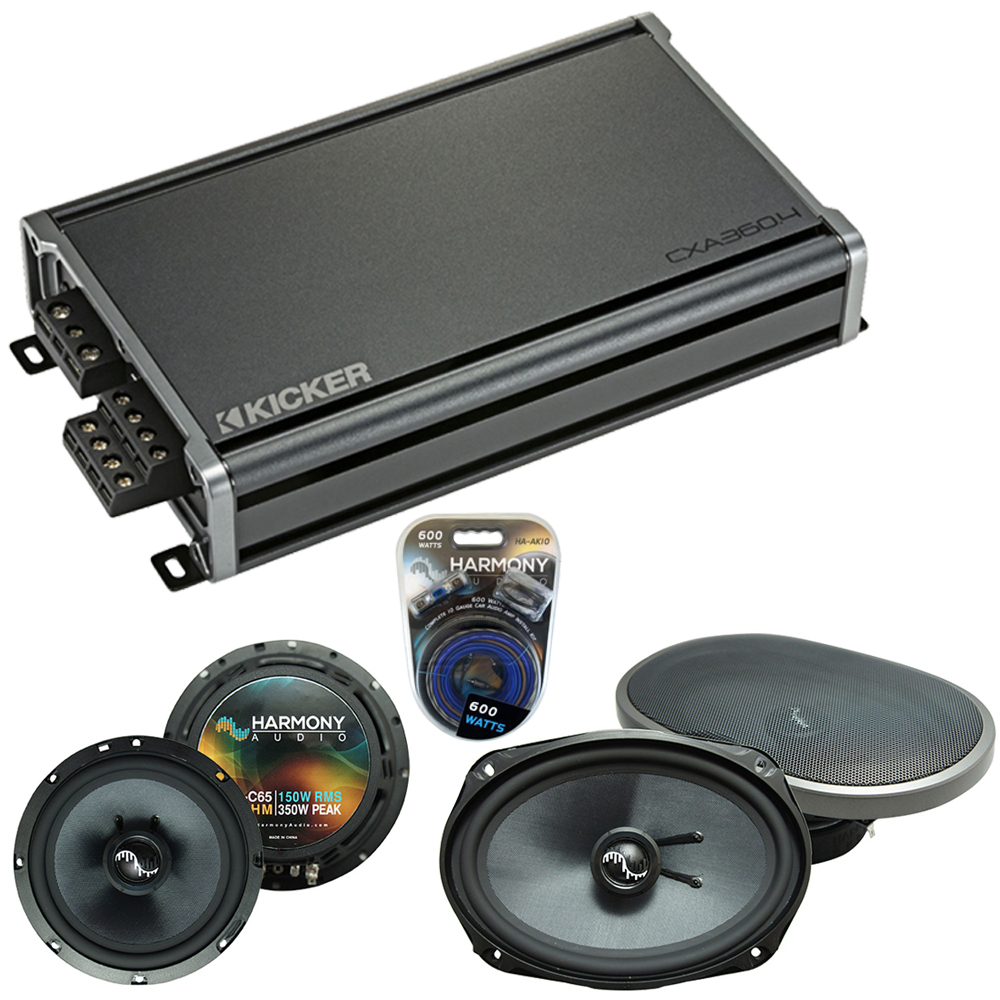 Compatible with Acura TL 2004-2008 Factory Speakers Replacement Harmony C65 C69 & CXA360.4