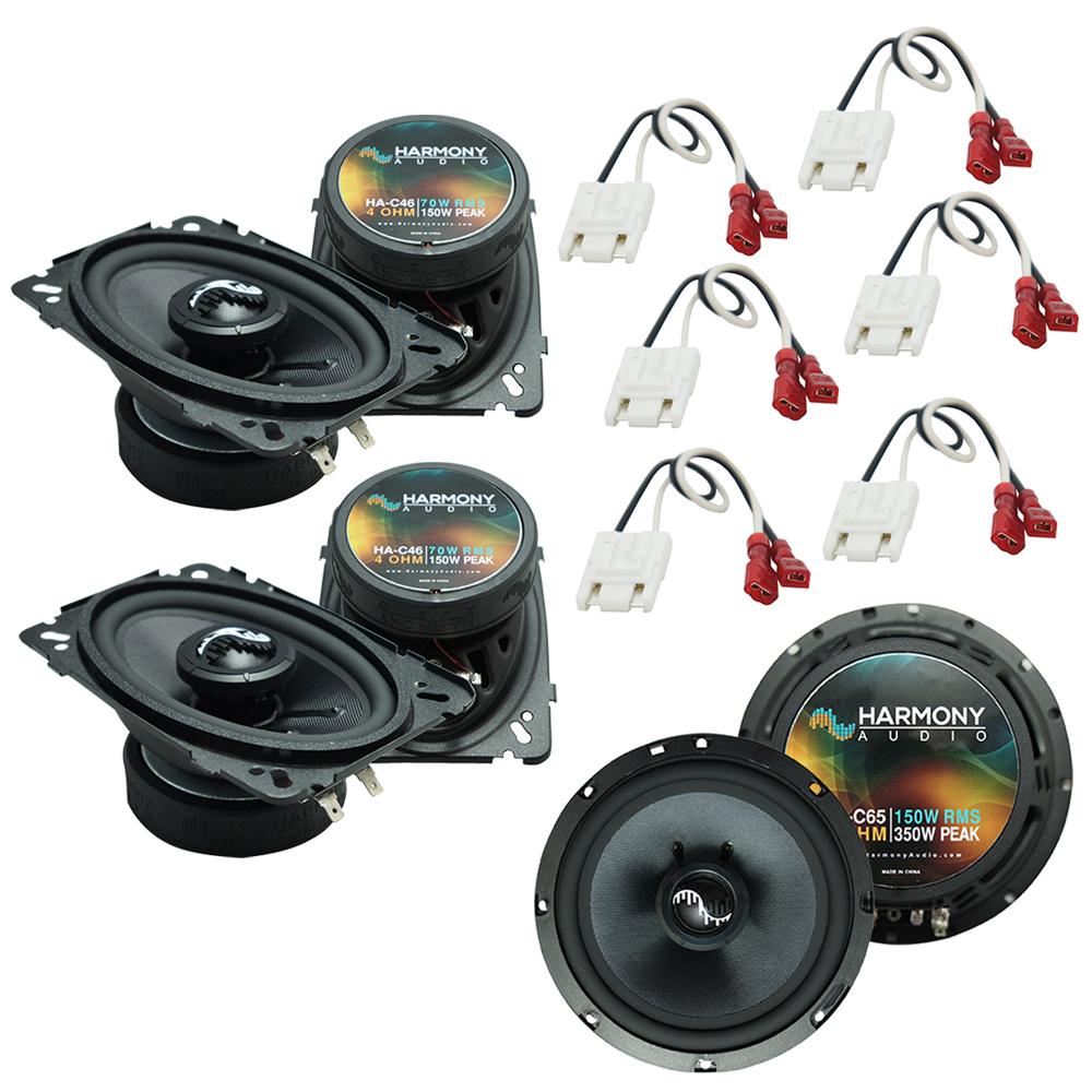 Fits Chevy Suburban 1988-1994 Factory Premium Speaker Upgrade Harmony C46 C65 Package