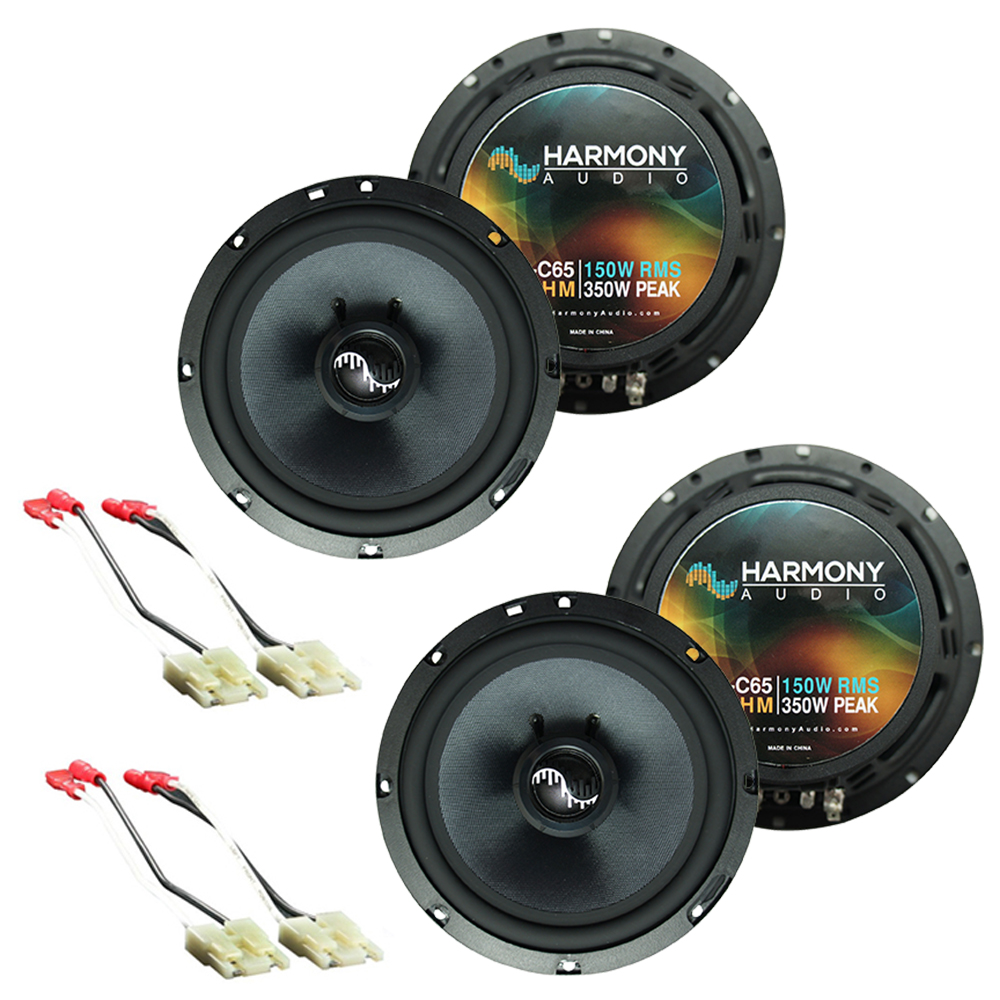 Fits Chevy Tracker 1998-2004 Factory Premium Speaker Replacement Harmony (2) C65 Package