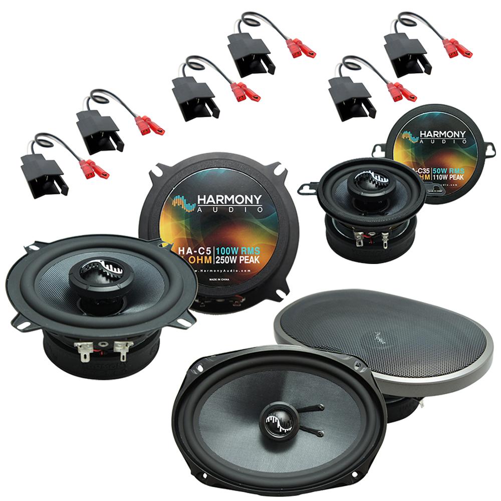 Fits Chrysler Yorker 1984-1993 Factory Speaker Replacement Harmony Premium Speakers