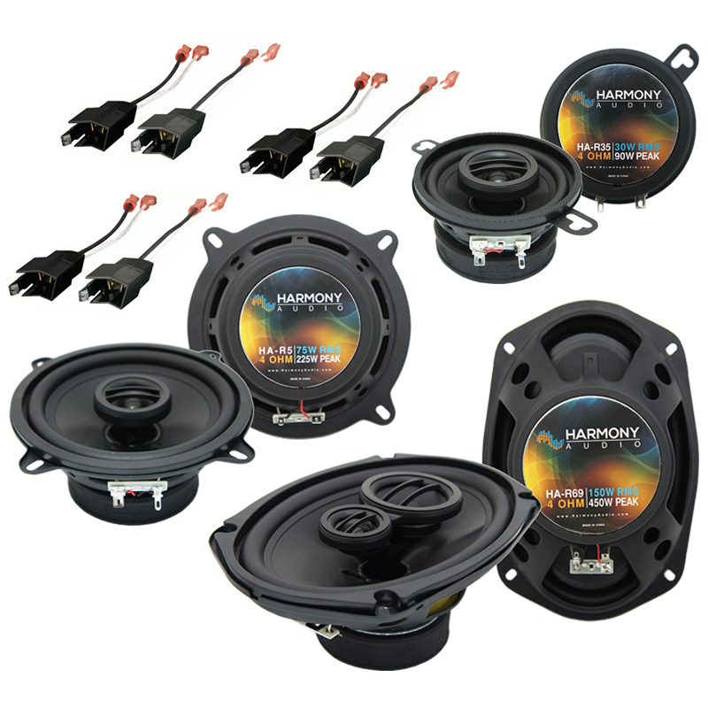 Chrysler New Yorker 1984-1993 Factory Speaker Replacement Harmony Speakers New