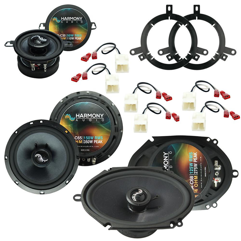 Fits Chrysler PT Cruiser 2005-2010 OEM Speaker Upgrade Harmony Premium Speakers Package