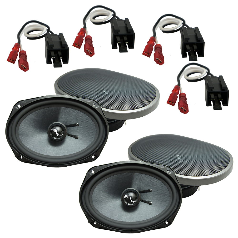 Fits Chrysler Sebring Convertible 2001-2006 OEM Speaker Upgrade Harmony Premium Speakers