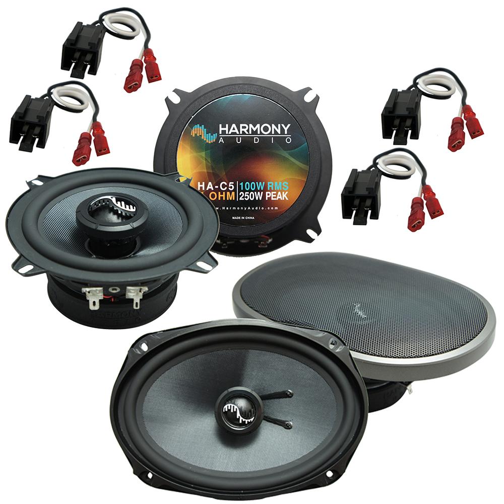 Fits Chrysler Sebring Coupe/Sedan 1995-2000 OEM Speaker Upgrade Harmony Premium Speakers
