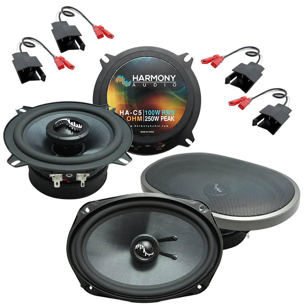 Fits Dodge Caravan 1984-2000 Factory Premium Speaker Upgrade Harmony C5 C69 Package New