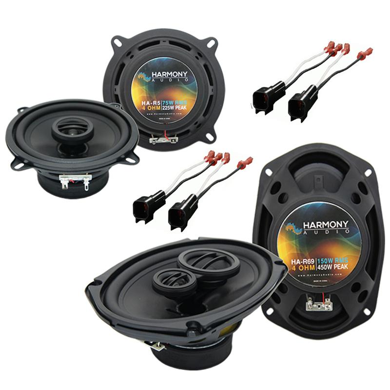 Dodge Caravan 2001-2001 Factory Speaker Upgrade Harmony R5 R69 Package New