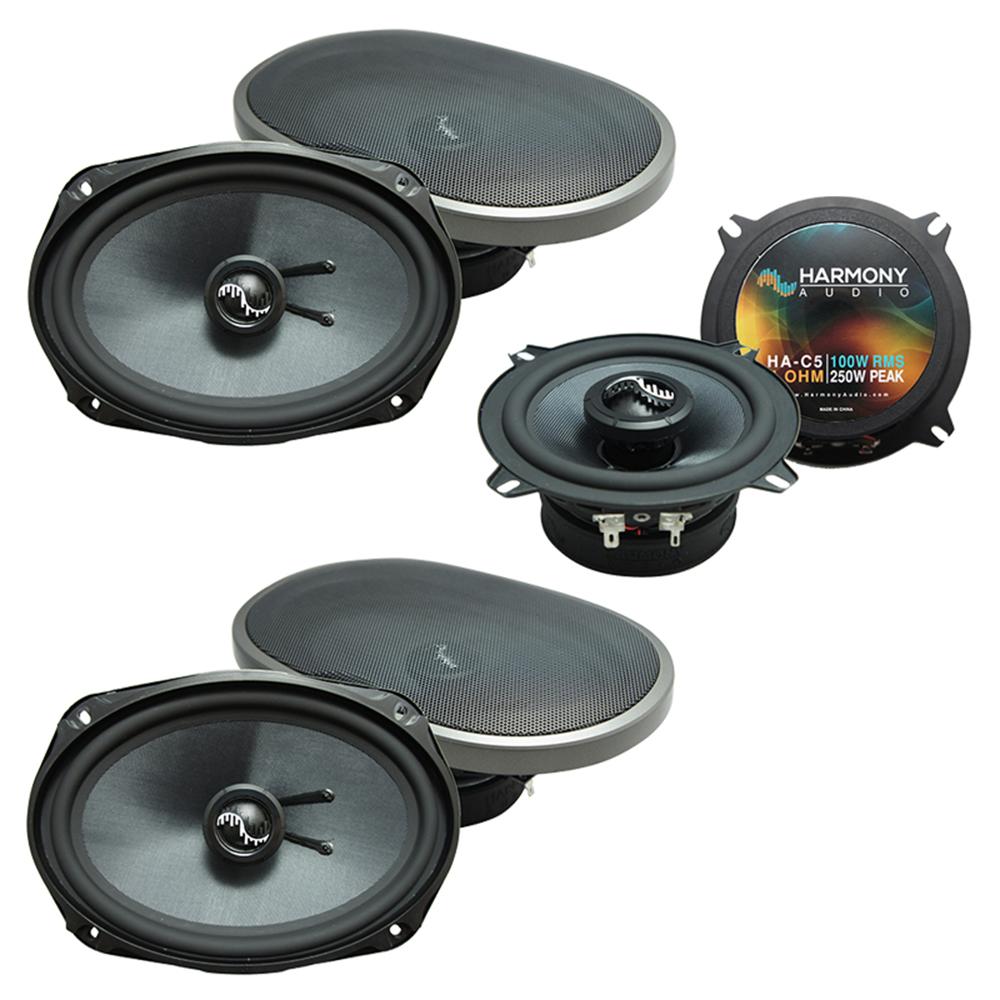 Fits Dodge Caravan 2002-2007 OEM Premium Speaker Upgrade Harmony (2)C69 C5 Package New