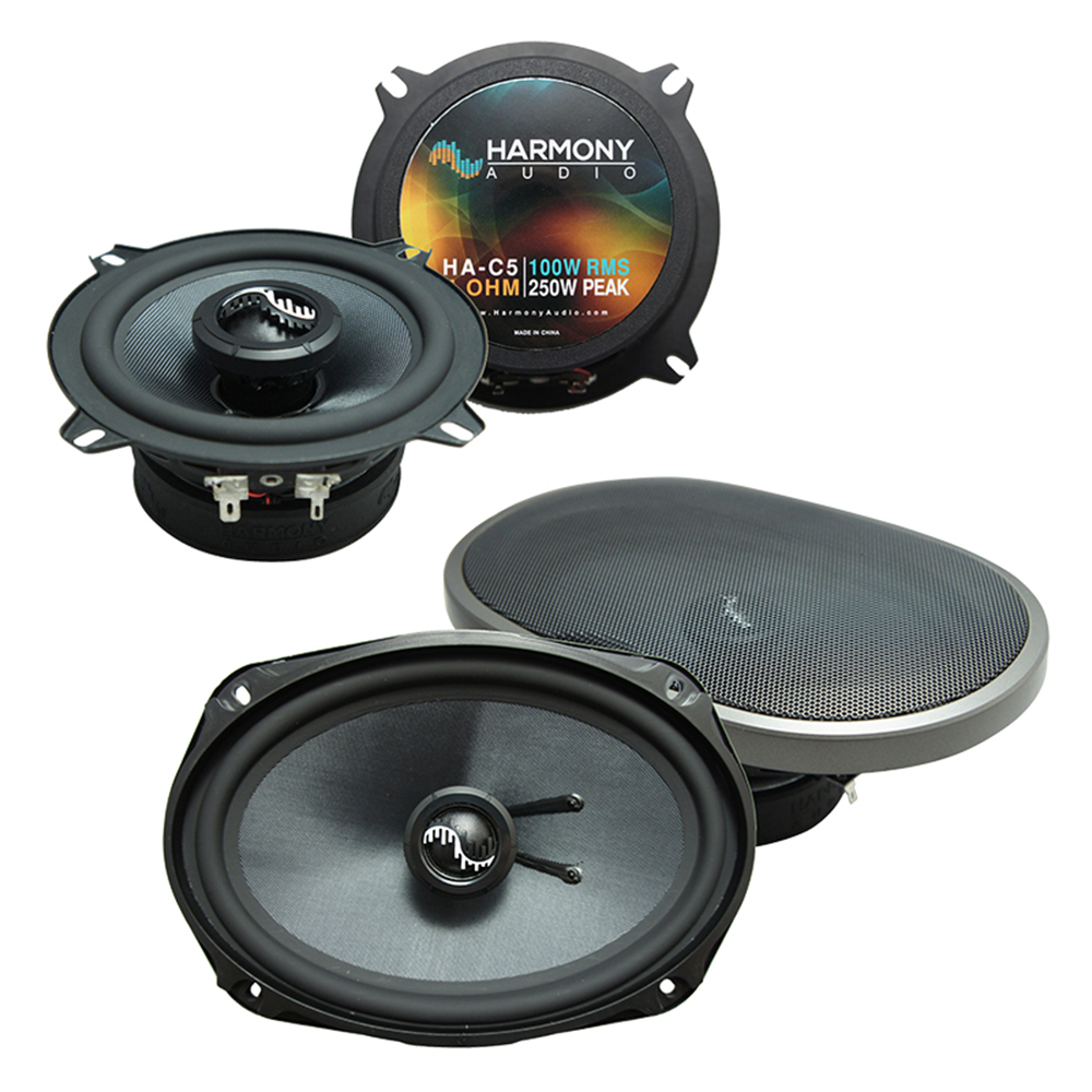 Fits Dodge Challenger 2008-2014 OEM Premium Speaker Upgrade Harmony C69 C5 Package New