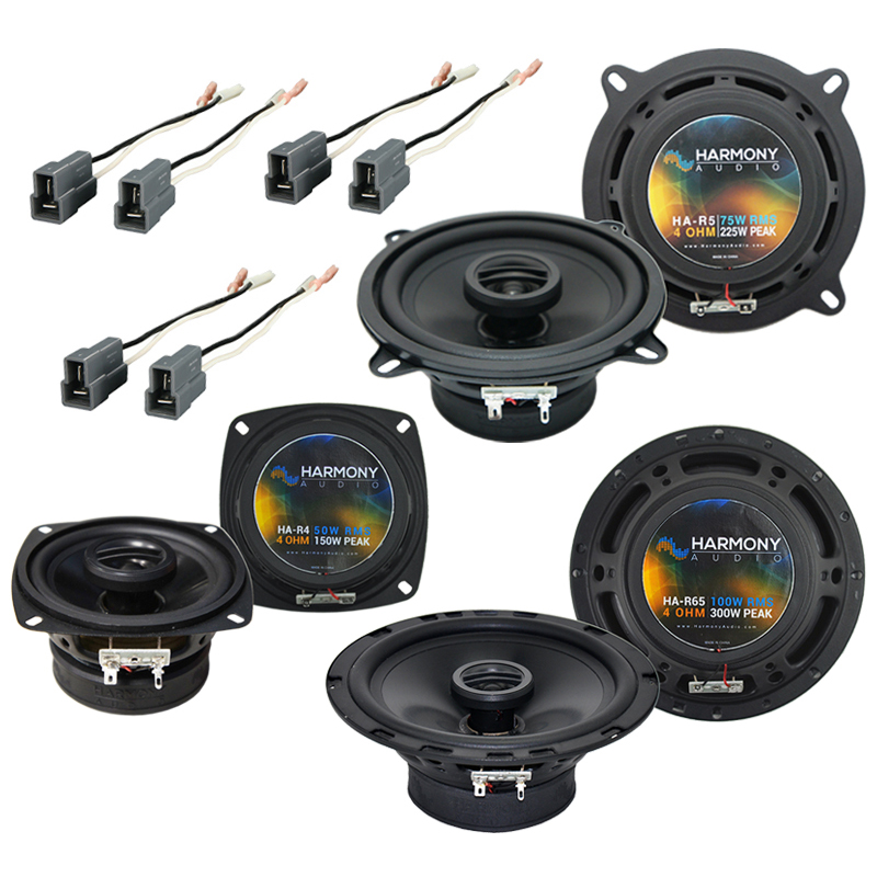 Dodge Colt 1987-1992 Factory Speaker Upgrade Harmony R5 R4 R65 Package New