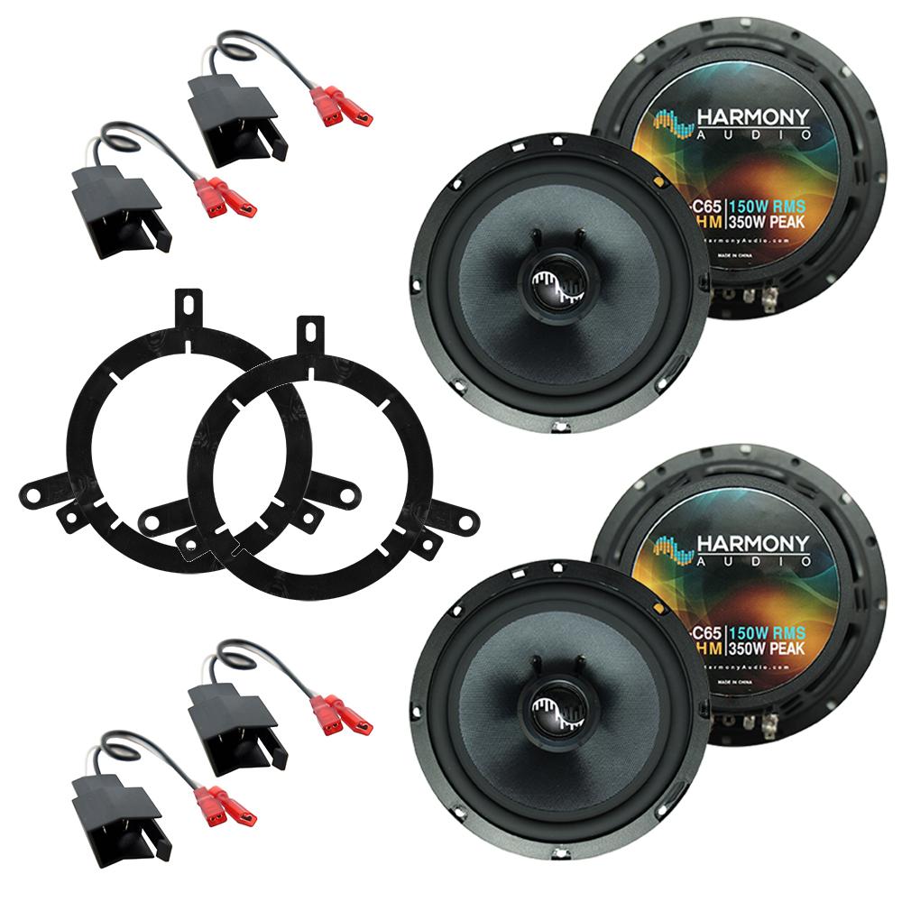 Fits Dodge Dakota 1997-2000 Factory Premium Speaker Replacement Harmony (2) C65 Package