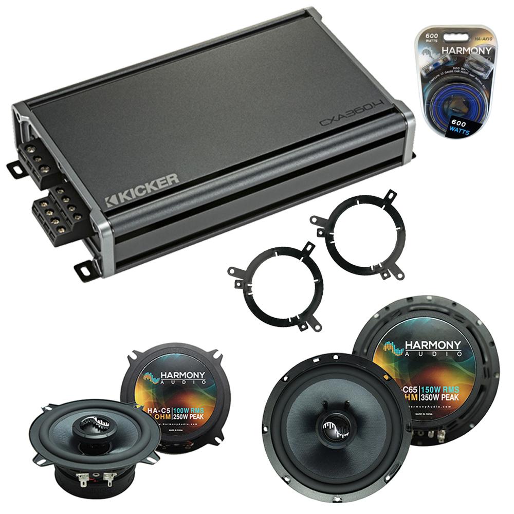 Compatible with Dodge Dakota 2001-2001 Factory Speakers Replacement Harmony C65 C5 & CXA360.4