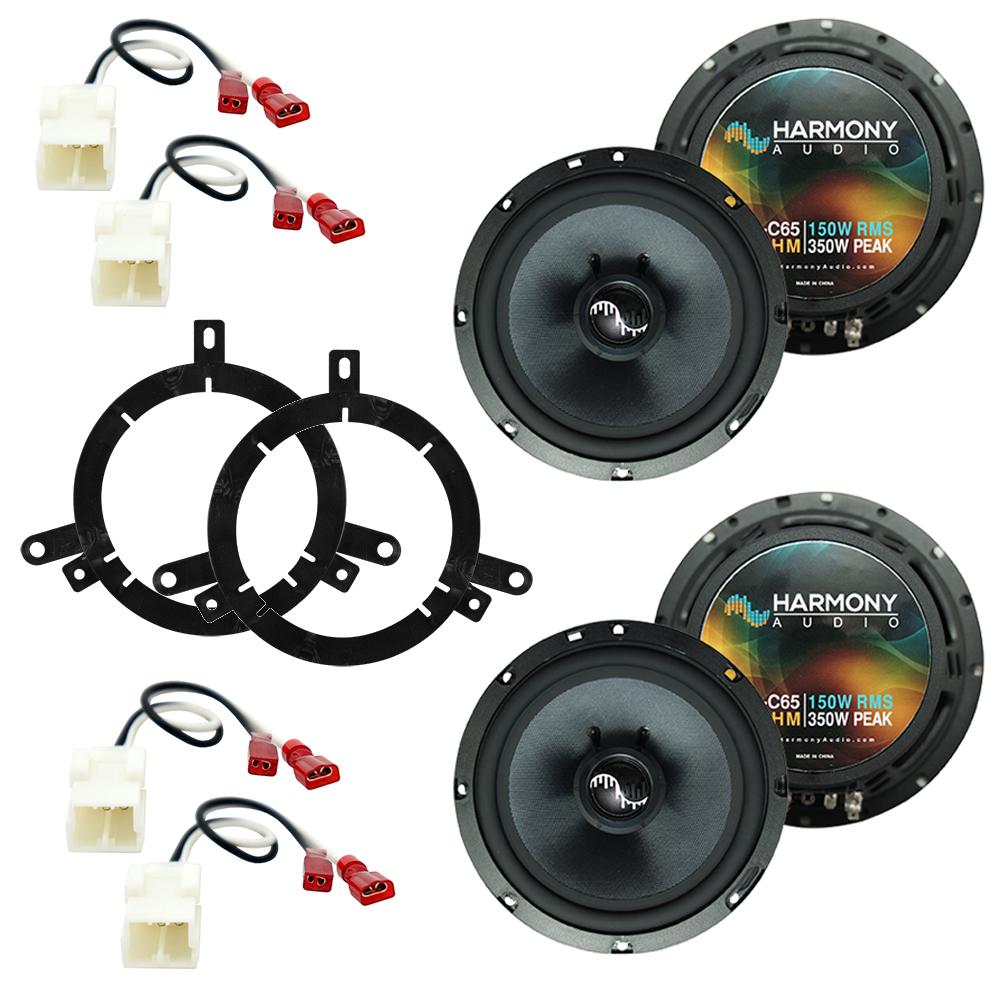 Fits Dodge Dakota 2002-2004 Factory Premium Speaker Replacement Harmony (2) C65 Package