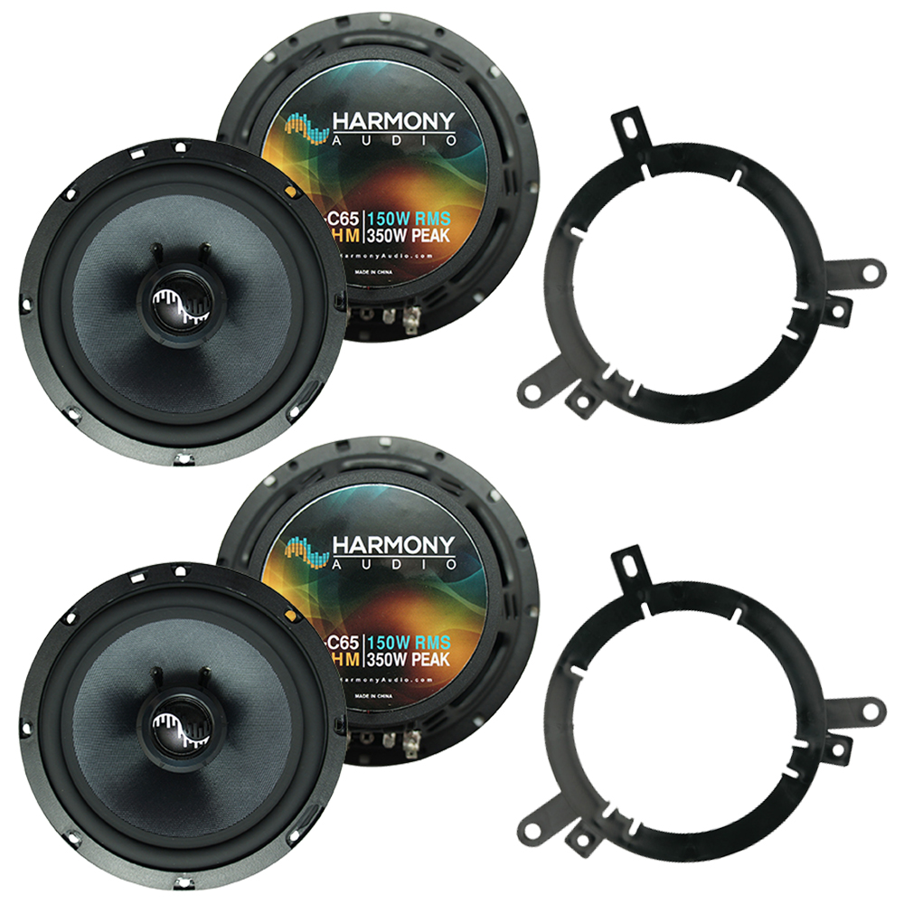 Fits Dodge Durango 2002-2003 Factory Premium Speaker Replacement Harmony (2) C65 Package