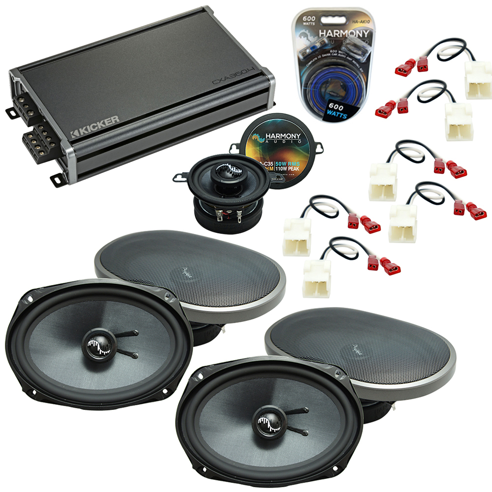 Compatible with Dodge Magnum 2005-2007 Factory Speakers Replacement Harmony C69 C35 & CXA360.4