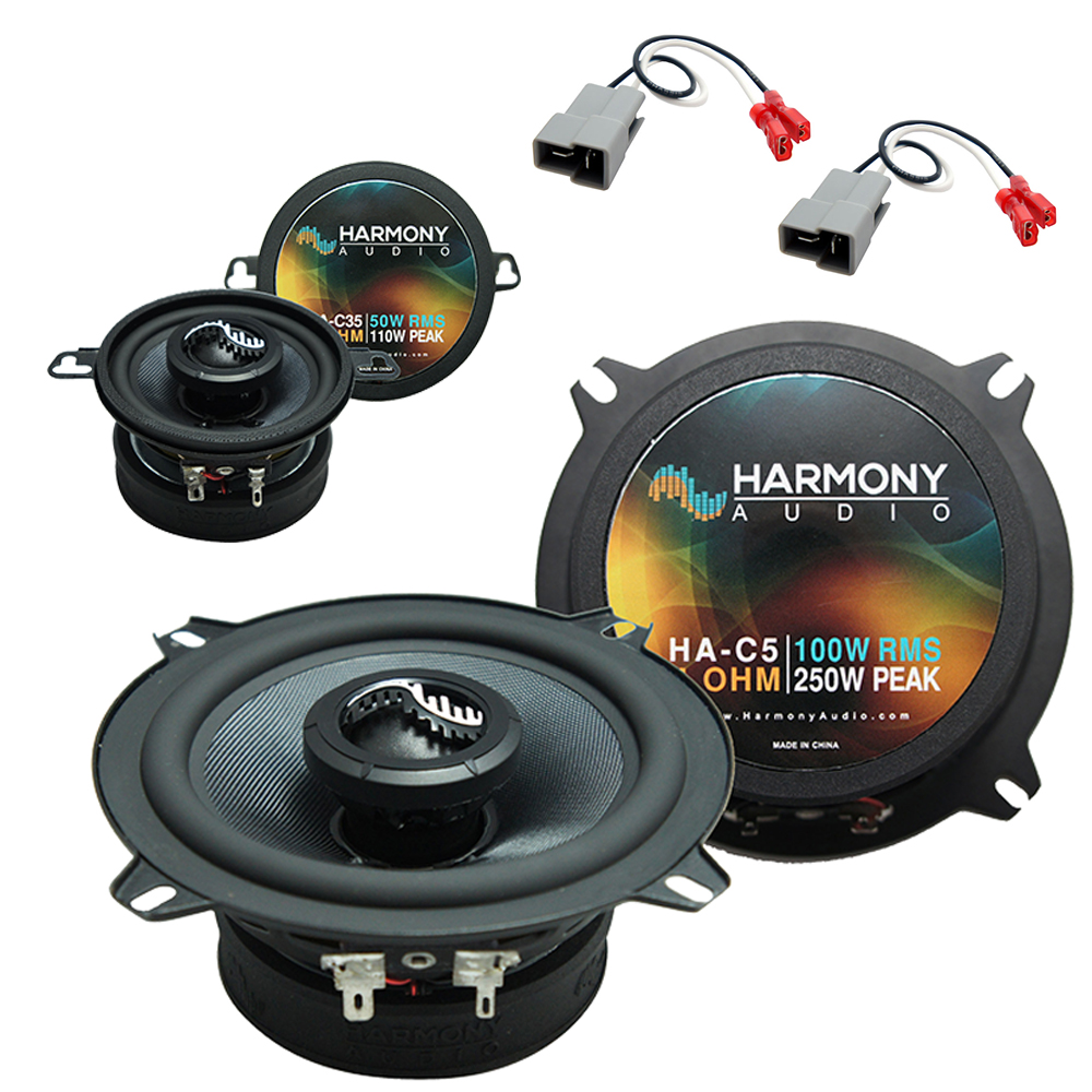 Fits Dodge Raider 1987-1989 Factory Premium Speaker Replacement Harmony C5 C35 Package