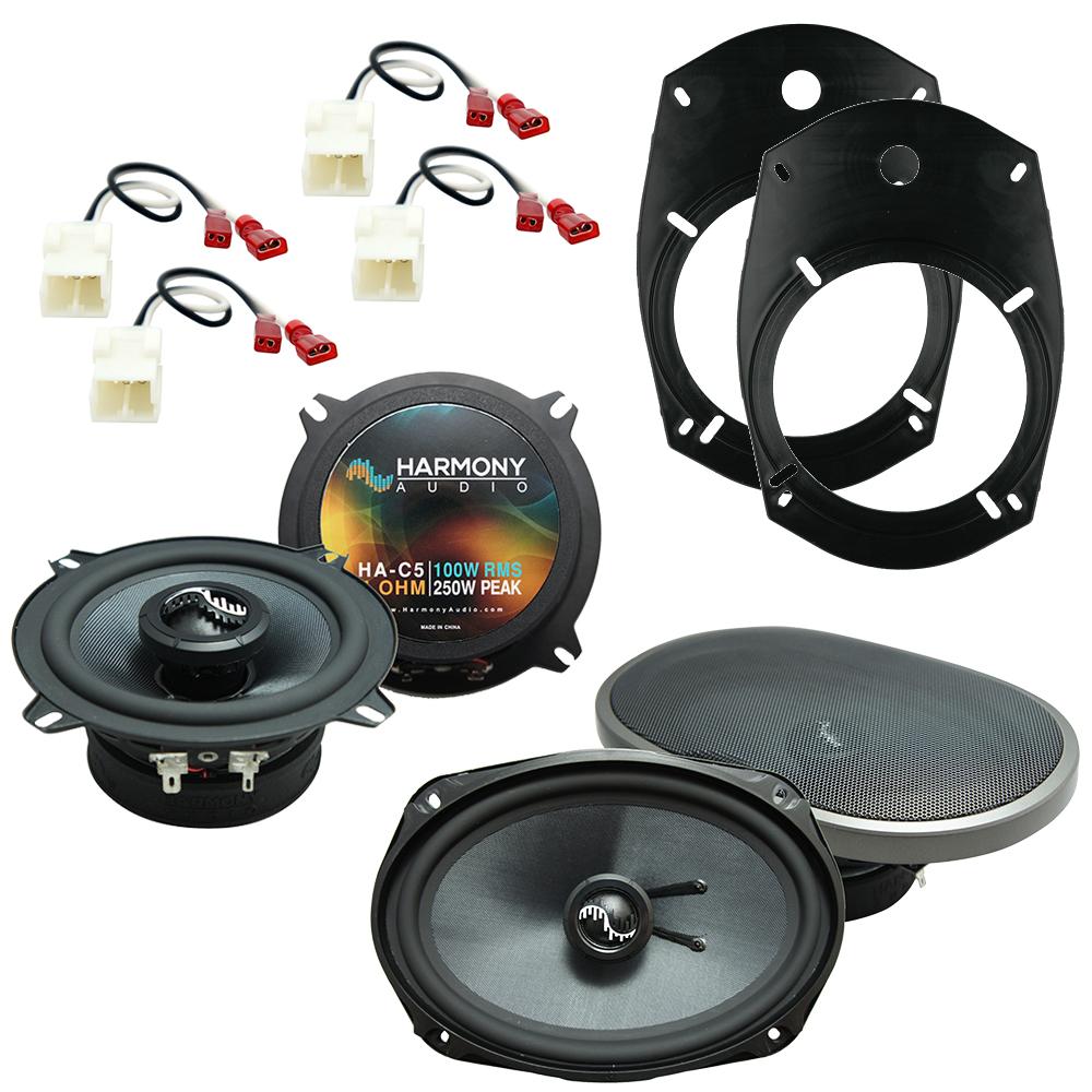 Fits Dodge Ram Truck 2500/3500 2006-2010 OEM Speaker Upgrade Harmony Premium Speakers