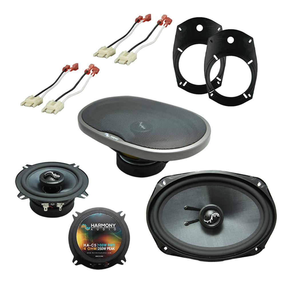 Fits Dodge Ram Truck 2500/3500 2002 Factory Speaker Replacement Harmony Premium Speakers