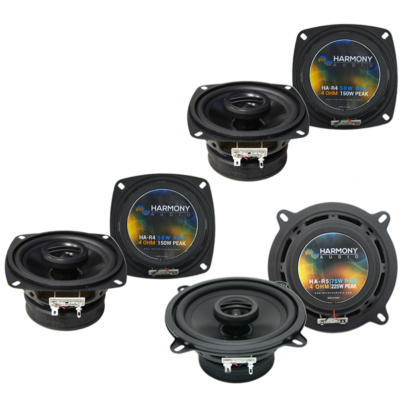 Fiat Spider 1970-1983 Factory Speaker Replacement Harmony R4 R5 Package New