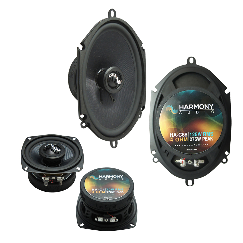 Fits Ford Bronco II 1983-1988 Factory Premium Speaker Upgrade Harmony C4 C68 Package New