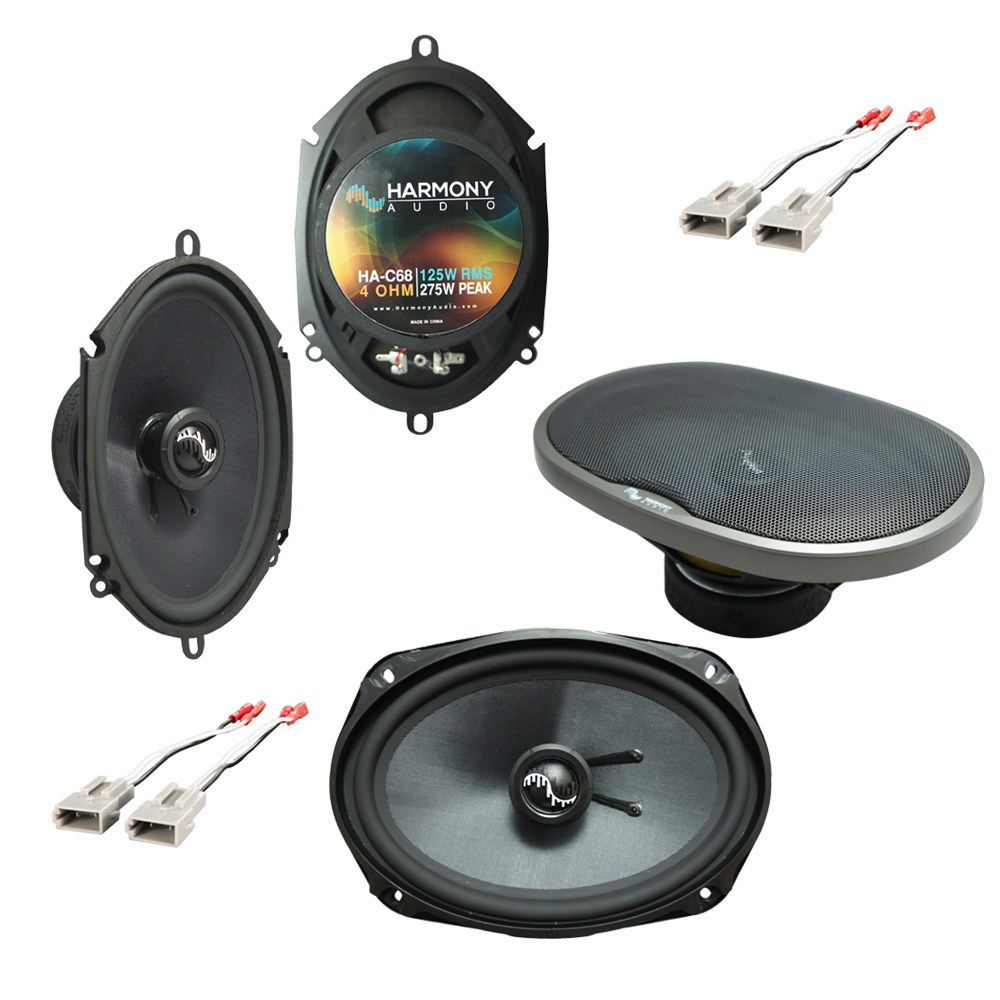 Fits Ford Crown Victoria 1992-1997 Premium Speaker Upgrade Harmony C68 C69 Package New