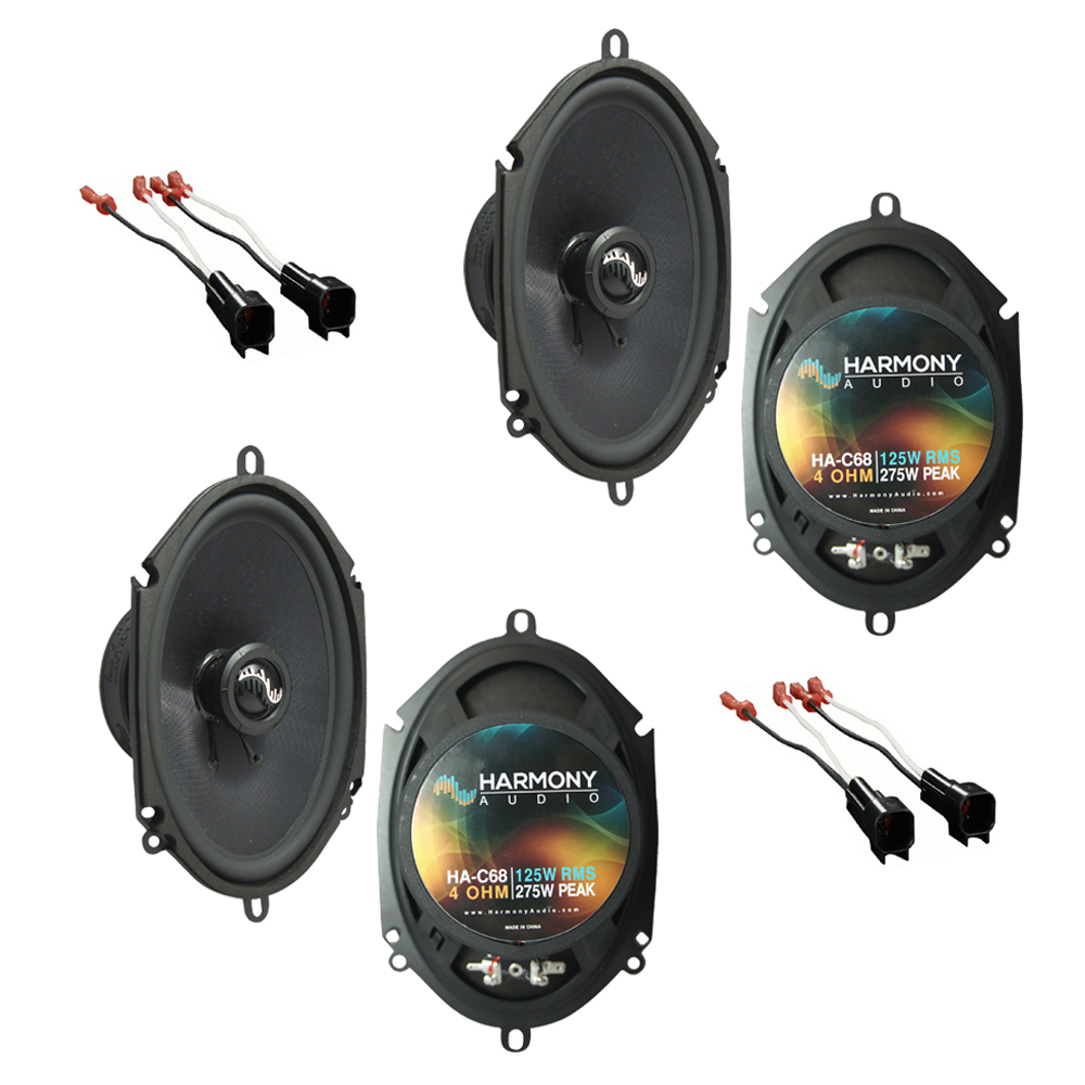 Fits Ford Excursion 2000-2005 Factory Premium Speaker Upgrade Harmony (2) C68 Package