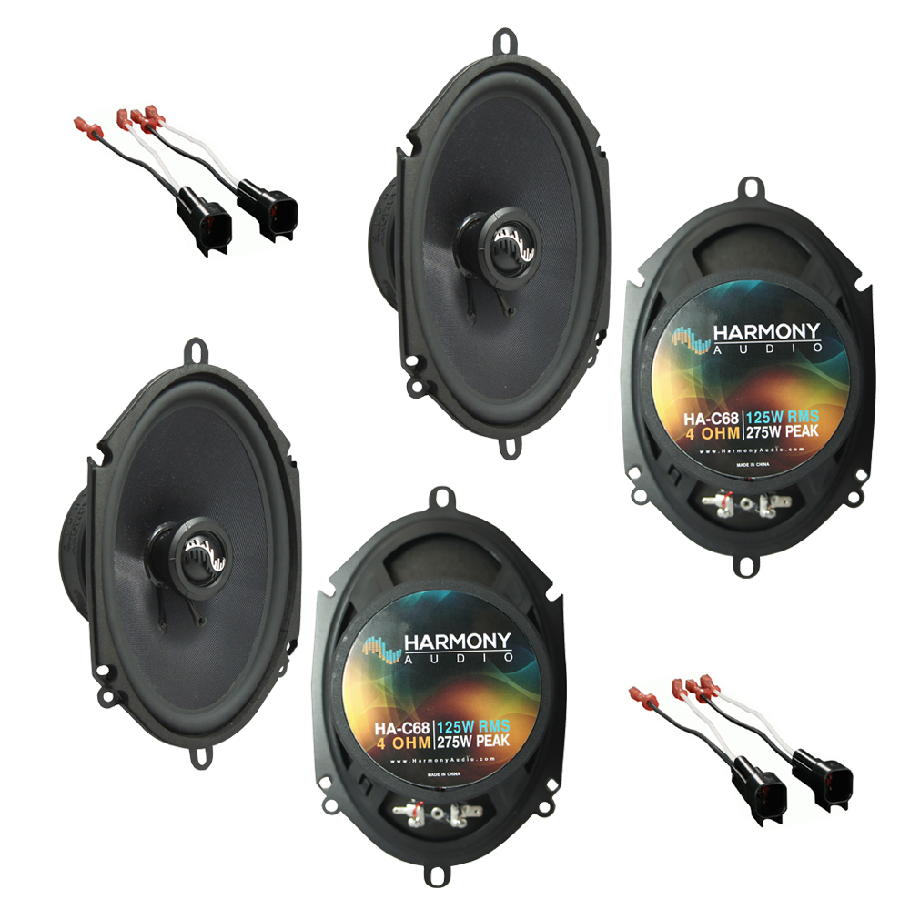 Fits Ford Expedition 1999-2014 Factory Premium Speaker Upgrade Harmony (2) C68 Package