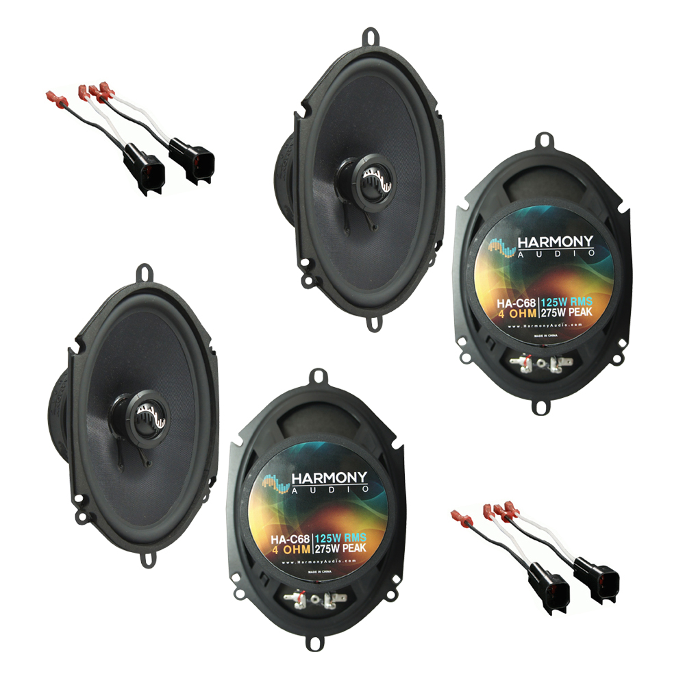 Fits Ford F-250/350/450 2013-2016 Factory Premium Speaker Upgrade Harmony (2)C68 Package