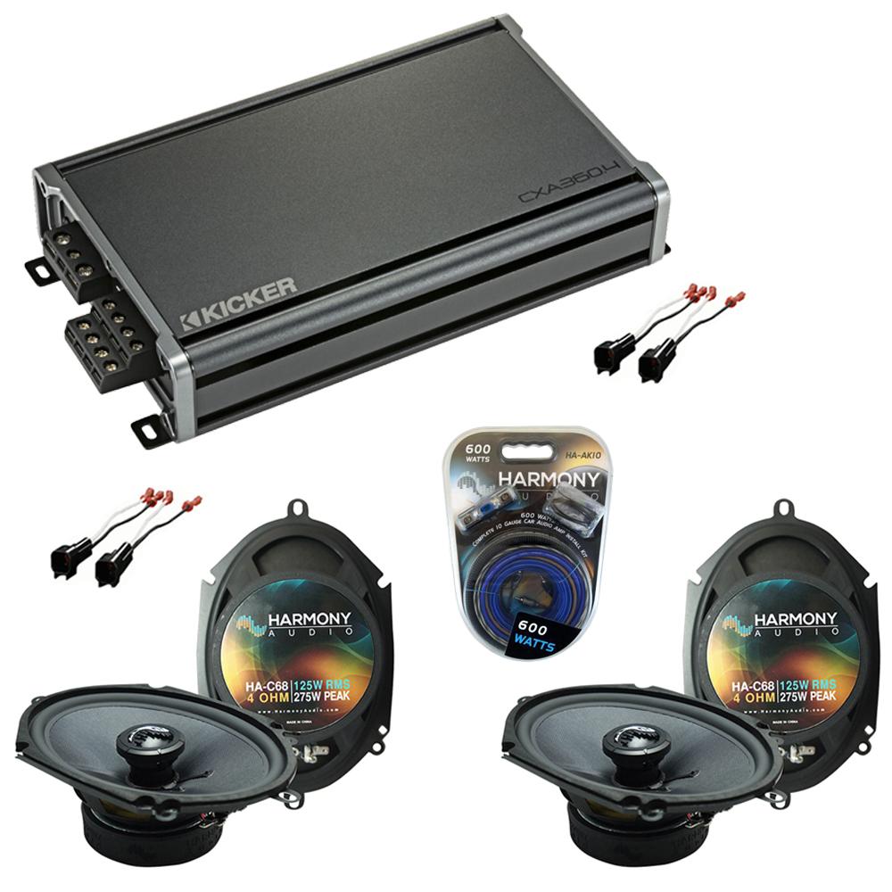 Compatible with Ford F-250/350/450/550/650/750 99-04 Premium Speaker Upgrade Harmony 2 C68 & CXA360.4