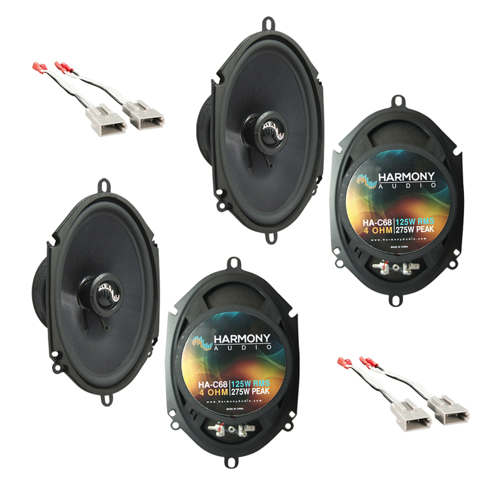 Fits Ford Thunderbird 1989-1997 OEM Premium Speaker Replacement Harmony (2) C68 Package