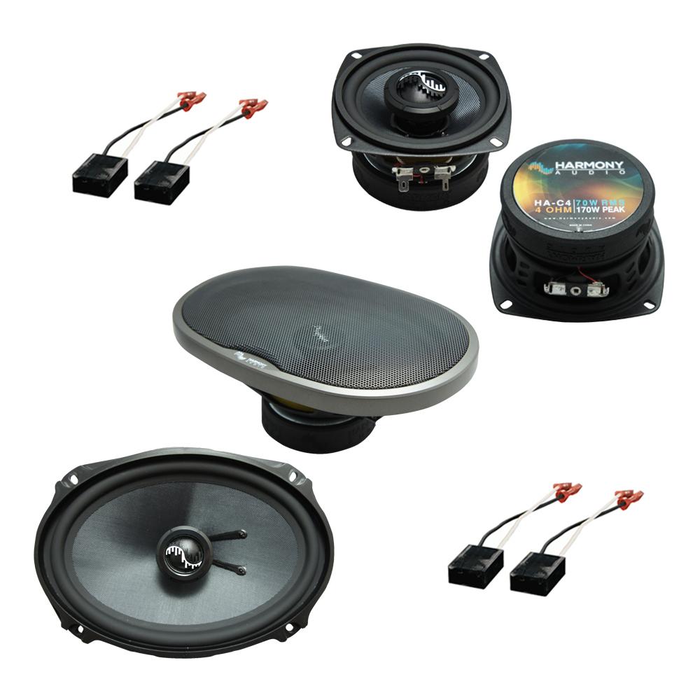 Fits GMC Safari Mini Van 1991-1995 OEM Speaker Upgrade Harmony Premium Speakers Package