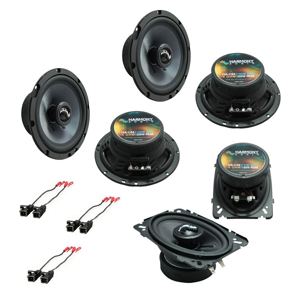 Fits GMC Safari Mini Van 1996-2005 OEM Speaker Upgrade Harmony Premium Speakers Package