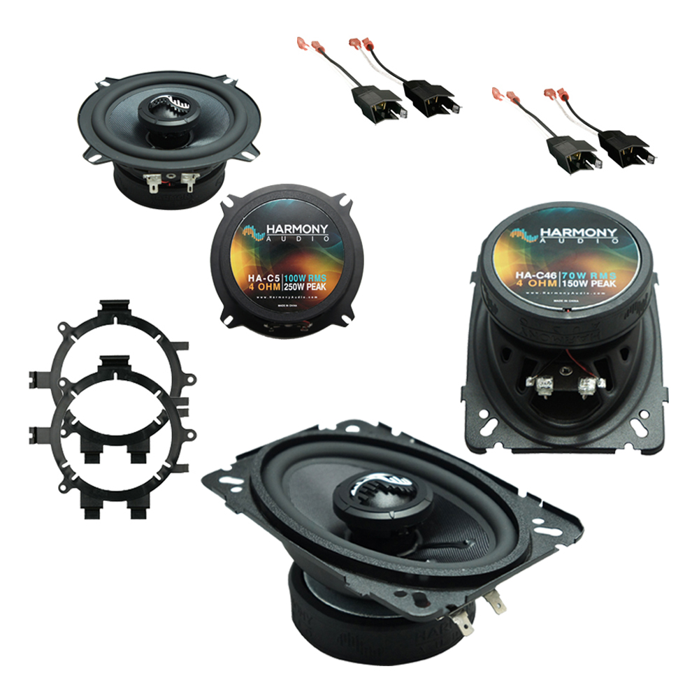 Fits GMC Sierra 1999-2006 Factory Premium Speaker Replacement Harmony C5 C46 Package New