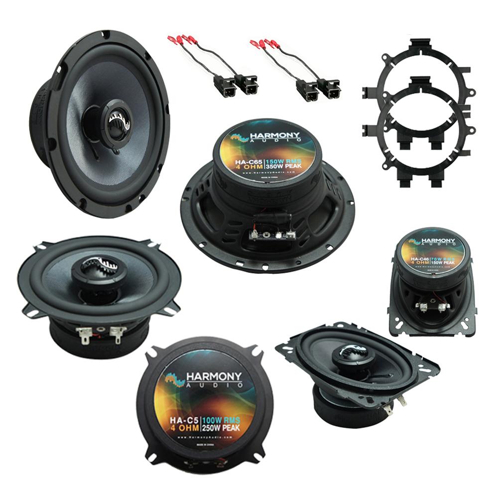 Fits GMC Sierra Classic 2007 OEM Premium Speaker Replacement Harmony C5 C65 C46 Package