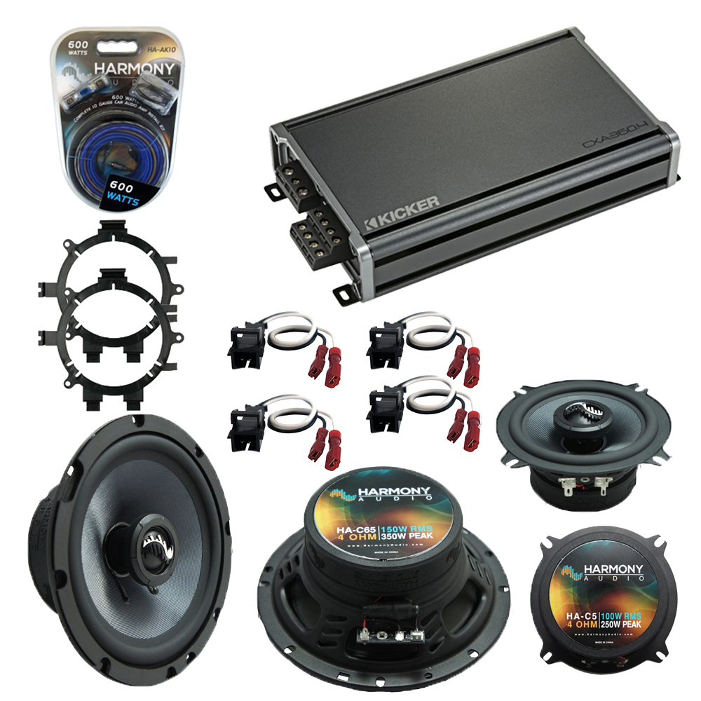 Compatible with GMC Yukon XL 2001-2002 Factory Speakers Replacement Harmony C5 C65 & CXA360.4