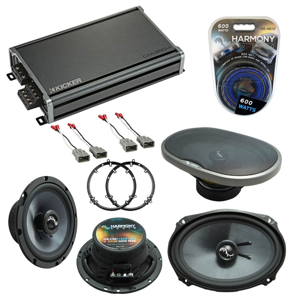Compatible with Honda Accord 1998-2002 OEM Speakers Replacement Harmony C65 C69 & CXA360.4
