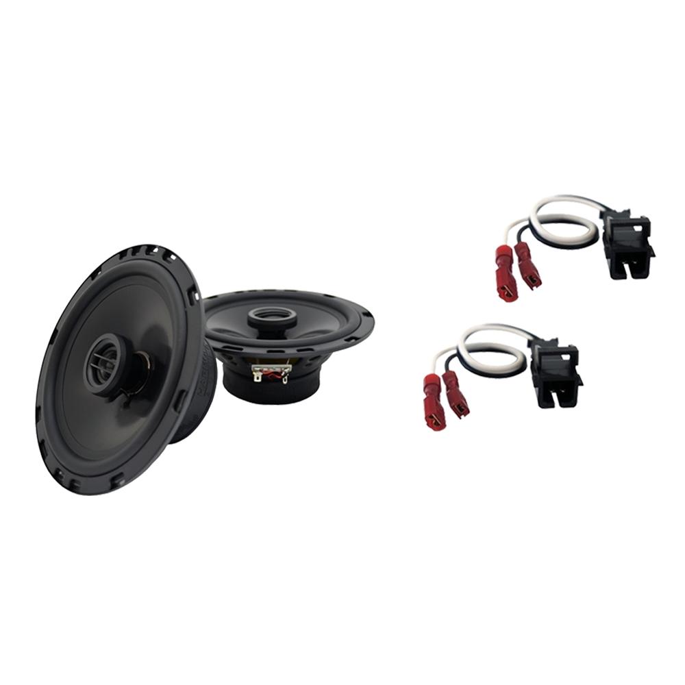 Fits GMC Sierra 2500HD 2014 Front Door Replacement Harmony HA-R65 Speakers New
