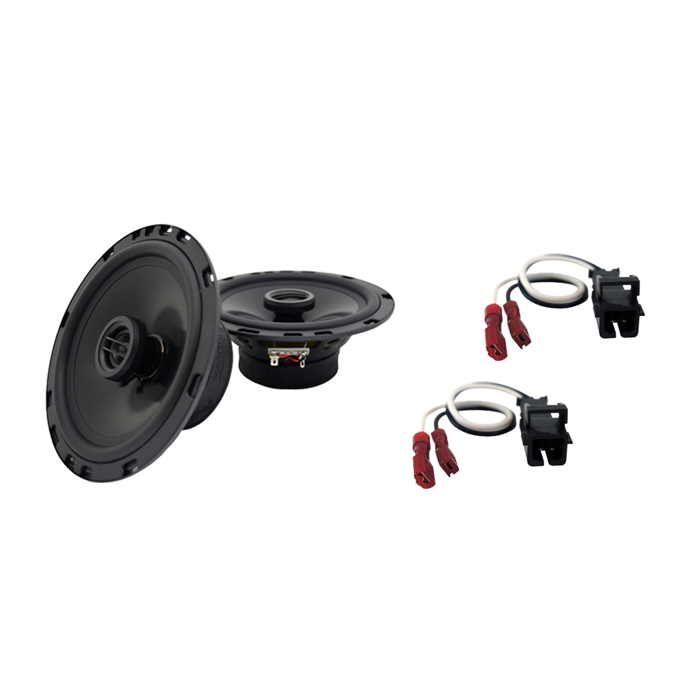 Fits GMC Sierra Chassis Cab 2014 Front Door Replacement Harmony HA-R65 Speakers