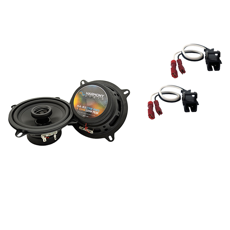 Fits GMC Sierra Chassis Cab 2014 Rear Door Replacement Harmony HA-R5 Speakers