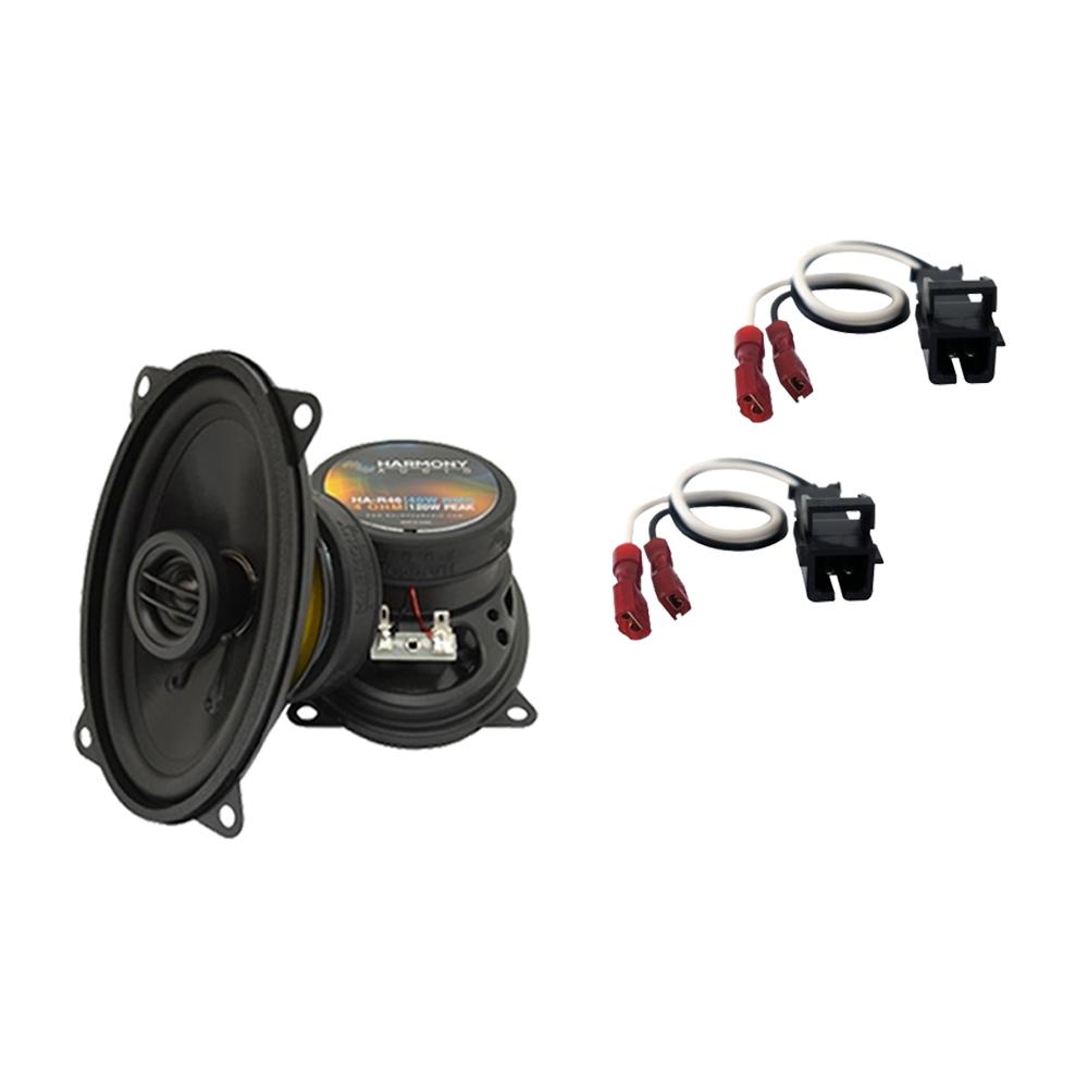 Fits GMC Sierra Classic 1999-2000 Front Door Replacement Harmony HA-R46 Speakers