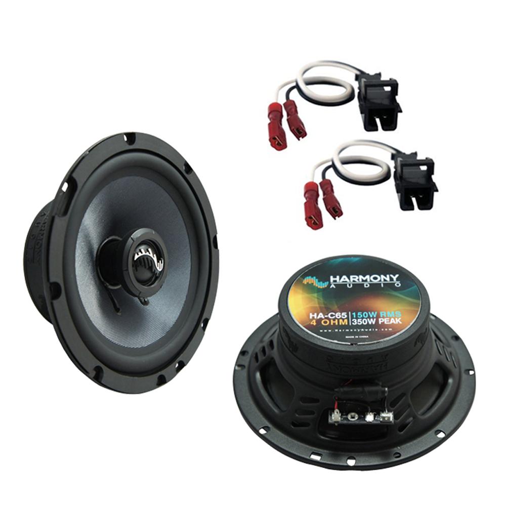 Fits GMC Sierra HD 2001-2002 Front Door Replacement Harmony HA-C5 Premium Speakers New